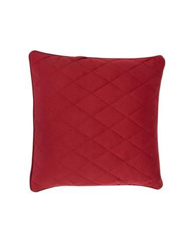 Červený vankúš s výplňou Zuiver Diamond, 50×50cm