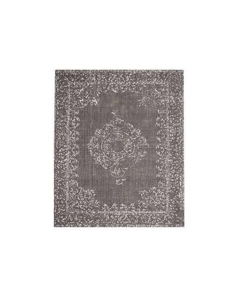 LABEL51 Tmavosivý koberec LABEL51 Vintage, 160 x 140 cm
