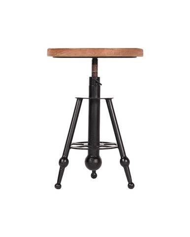 Barová stolička z mangového dreva LABEL51 Solid