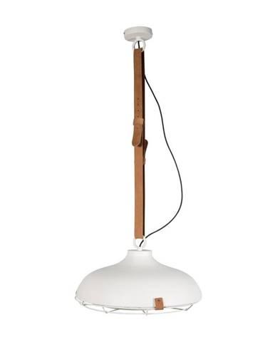 Biele stropné svietidlo Zuiver Dek, Ø51 cm