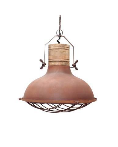 Kovové stropné svietidlo LABEL51 Grid, ⌀ 52 cm