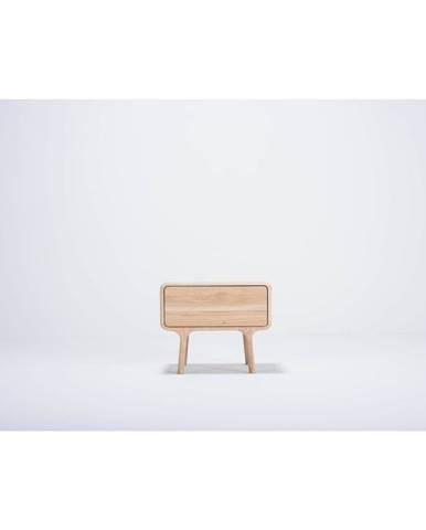 Nočný stolík z masívneho dubového dreva Gazzda Fawn