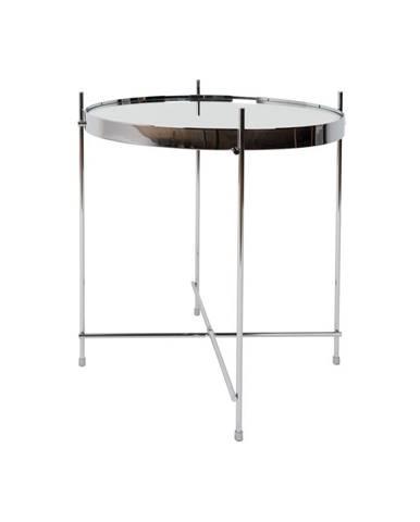 Odkladací stolík v striebornej farbe Zuiver Cupid