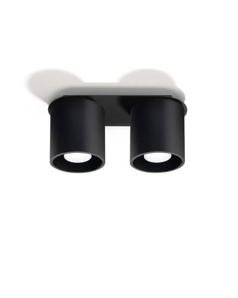 Nice Lamps Čierne stropné svietidlo Sollux Roda