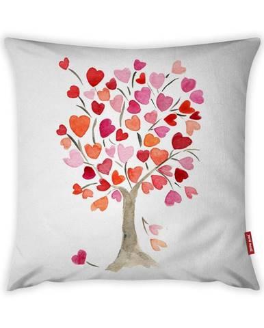 Obliečka na vankúš Vitaus Love Tree Rose, 43×43 cm