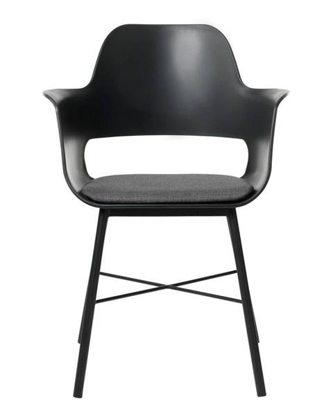 Unique Furniture Čierna jedálenská stolička Unique Furniture Wrestler
