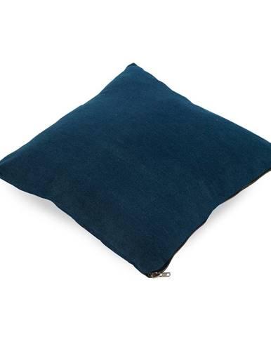 Tmavomodrý vankúš Geeso Soft, 45×45 cm