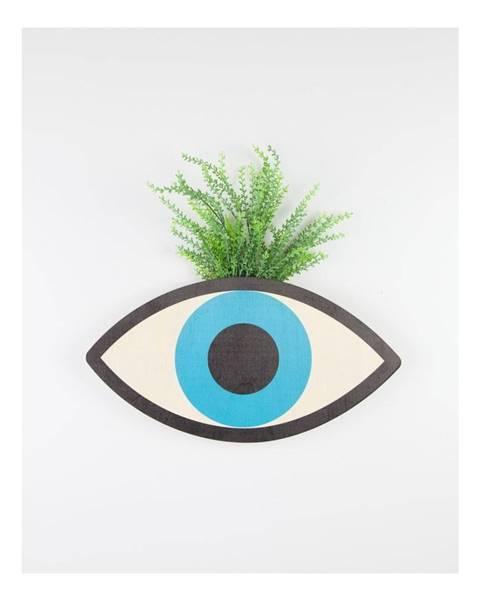 Surdic Nástenný kvetináč z bukového dreva Surdic Blue Eyes