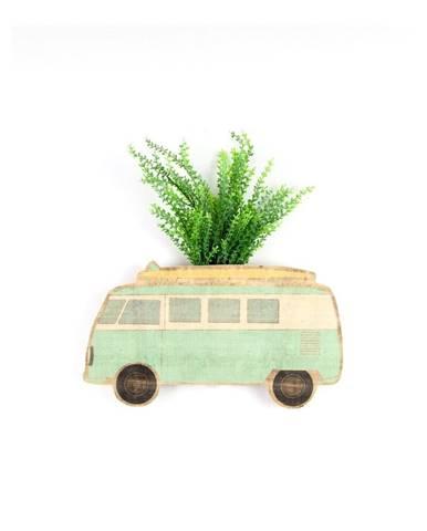 Nástenný kvetináč z bukového dreva Surdic Caravan