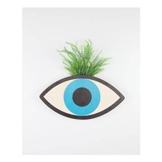 Nástenný kvetináč z bukového dreva Surdic Blue Eyes
