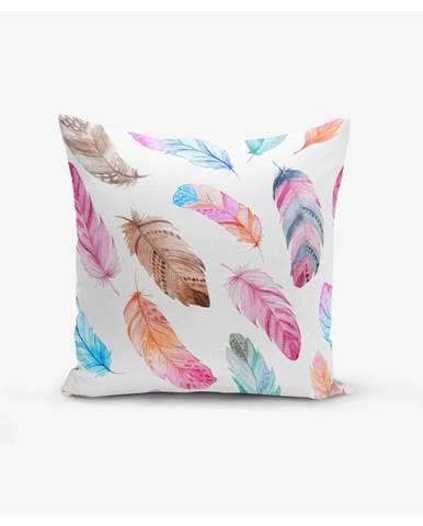 Obliečka na vankúš Minimalist Cushion Covers Colorful Bird Pendants, 45×45 cm