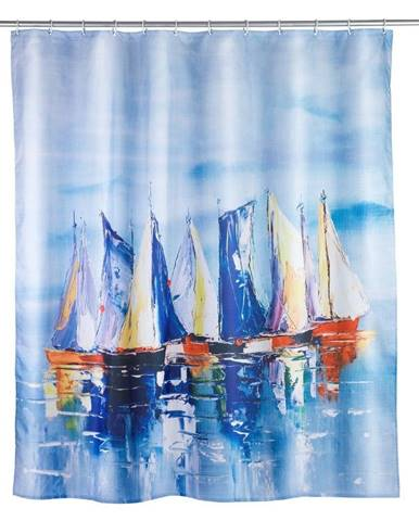 Sprchový záves Wenko Sailing, 180×200 cm