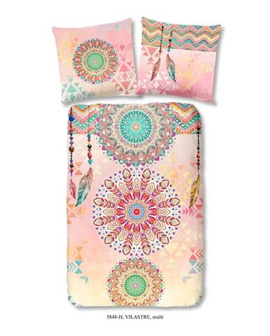 Obliečky na jednolôžko z bavlneného saténu Muller Textiels Vilastre, 140×200 cm