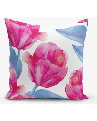 Obliečka na vankúš s prímesou bavlny Minimalist Cushion Covers Lale, 45×45 cm
