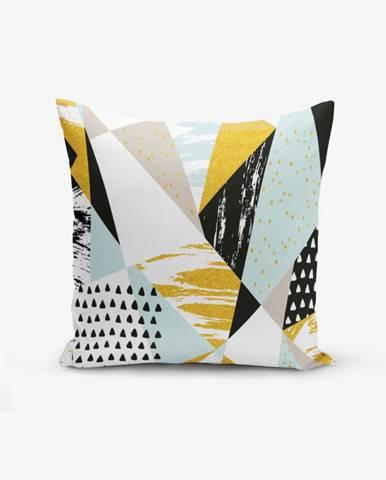 Obliečka na vankúš s prímesou bavlny Minimalist Cushion Covers Liandnse Modern Geometric Sekiller, 45×45 cm