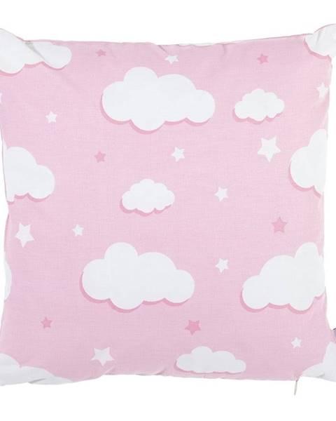 Apolena Ružová bavlnená obliečka na vankúš Mike&Co.NEWYORK Skies, 35 x 35 cm