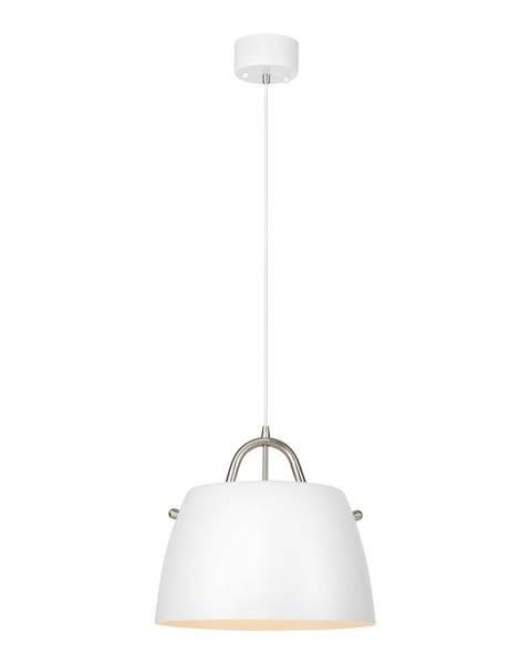 Markslöjd Biele závesné svietidlo Markslöjd Spin Pendant White