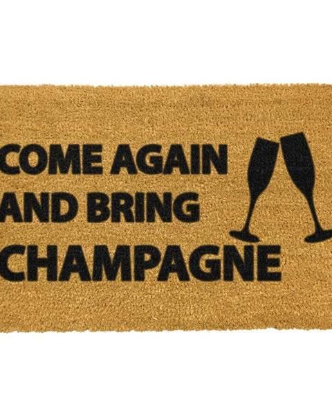 Artsy Doormats Rohožka z prírodného kokosového vlákna Artsy Doormats Come Again & Bring Champagne, 40 x 60 cm