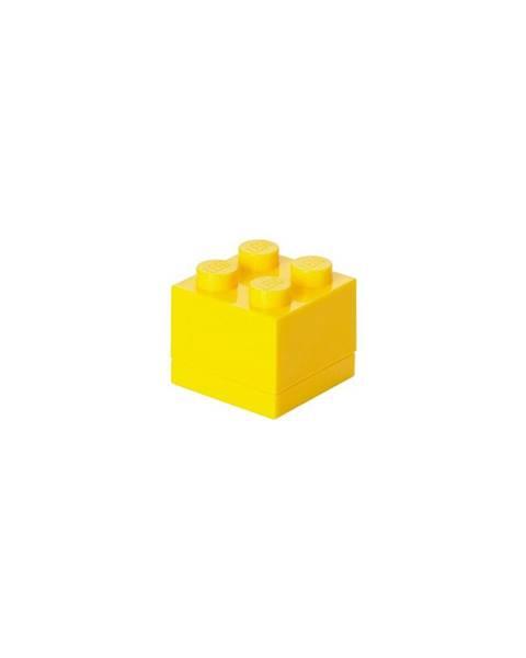 LEGO® Žltý úložný box LEGO® Mini Box