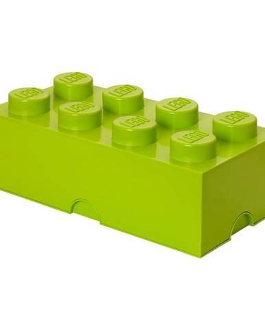 Limetkovozelený úložný box LEGO®