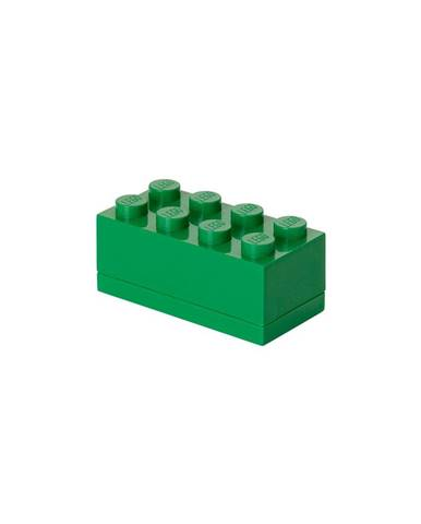 Zelený úložný box LEGO® Mini Box Lungo