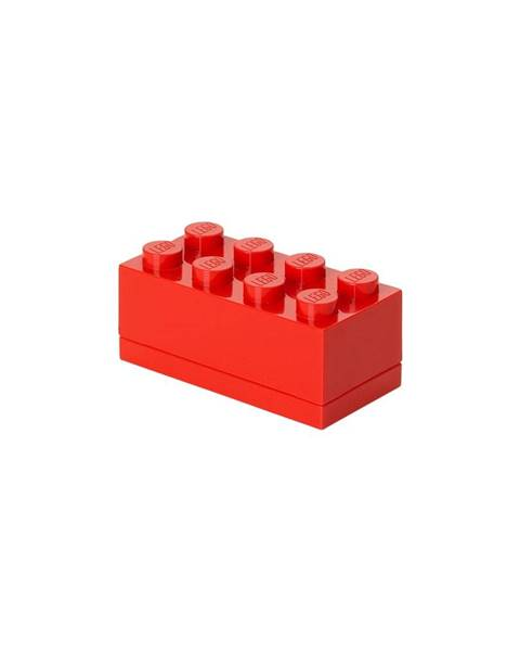 LEGO® Červený úložný box LEGO® Mini Box