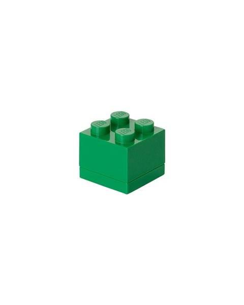 LEGO® Zelený úložný box LEGO® Mini Box Green