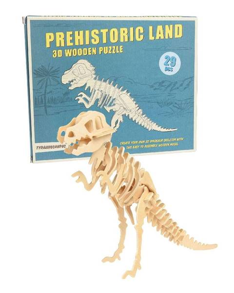 Rex London Drevené 3D puzzle dinosaurus Rex London Tyrannosaurus