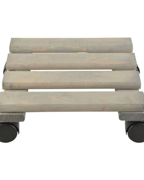 Ego Dekor Podložka pod kvetináč z borovicového dreva Esschert Design, 24cm