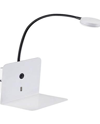 Nástenné svietidlo s USB portem SULION Malvo