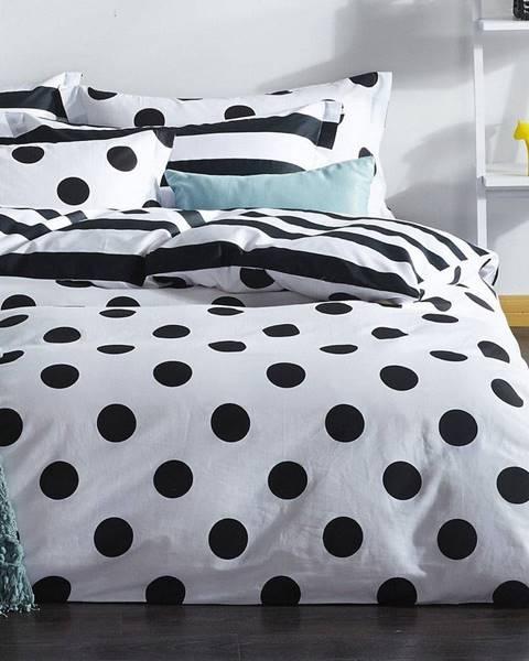 EnLora Home Obliečky s plachtou a 2 obliečkami na vankúš Hakola, 200×220 cm