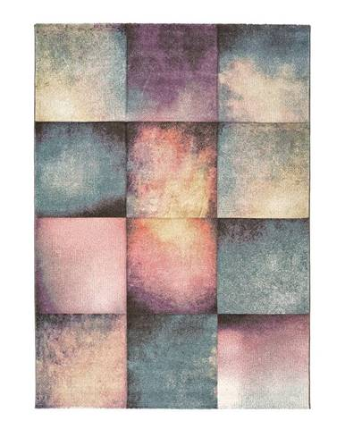 Koberec Universal Pinky Squaro Multi, 80×150 cm
