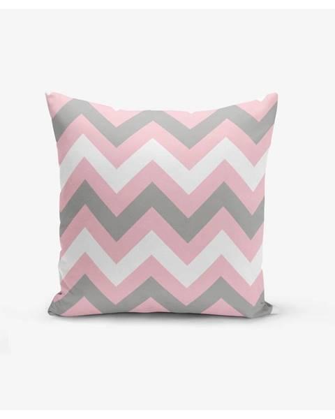 Minimalist Cushion Covers Obliečka na vankúš Minimalist Cushion Covers Zigzag Colorful, 45×45 cm