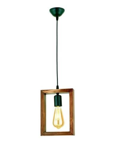Závesné svietidlo z hrabového dreva Geometrik Square