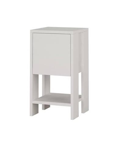 Biely nočný stolík Garetto Ema