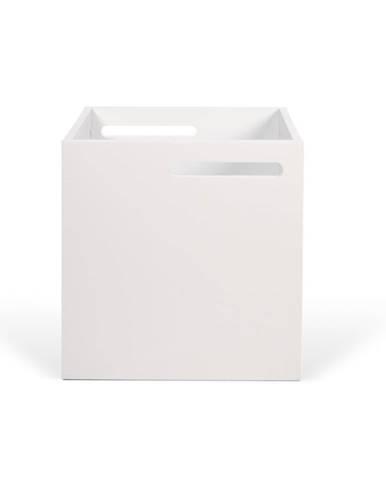 Biely úložný box ku knižniciam TemaHome Berlin