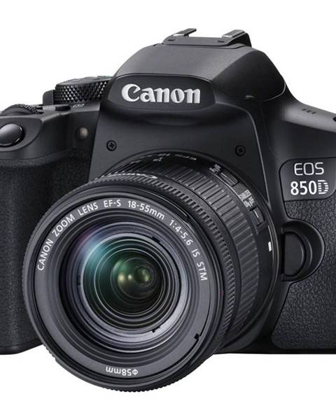 Canon Digitálny fotoaparát Canon EOS 850D + 18-55 IS STM čierny