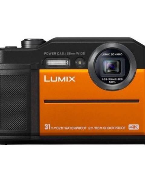Panasonic Digitálny fotoaparát Panasonic Lumix DC-FT7 oranžov