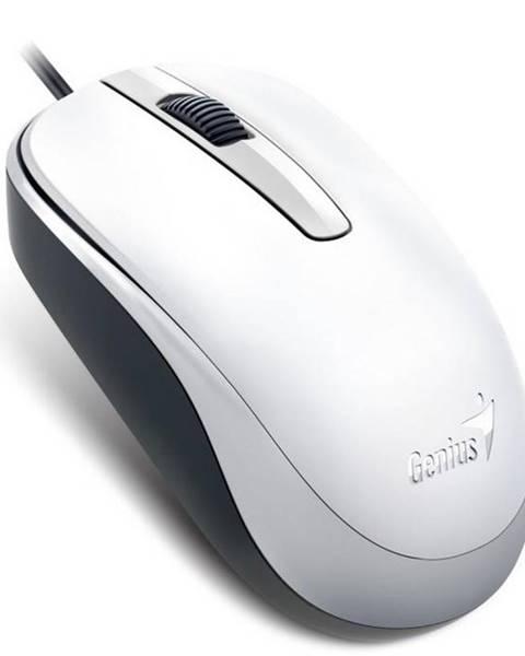 Genius Myš  Genius DX-120 biela / optická / 3 tlačítka / 1200dpi