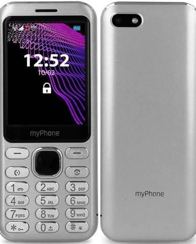 Mobilný telefón myPhone Maestro strieborný