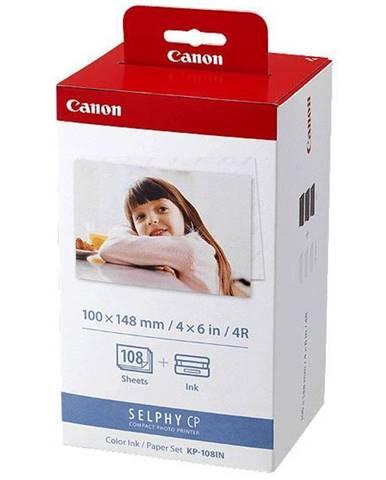 Fotopapier Canon KP-108,10x15 cm, 108 listů pro Selphy