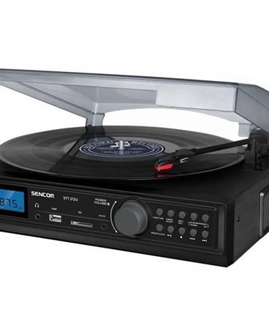 Gramofón Sencor STT 212U čierny