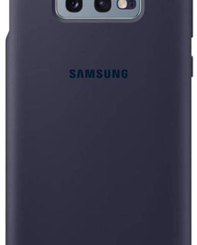 Kryt na mobil Samsung Silicon Cover na Galaxy S10e - navy