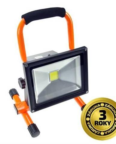 LED reflektor Solight 20W, studená bílá, nabíjecí, 1600lm