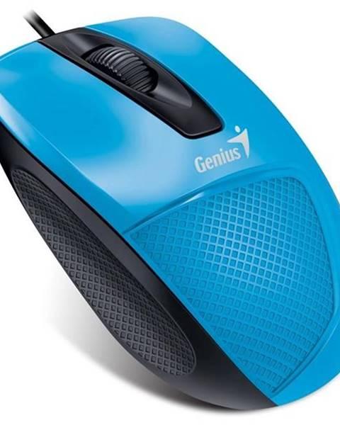 Genius Myš  Genius DX-150X modrá / optická / 3 tlačítka / 1000dpi