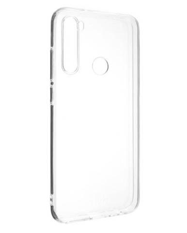Kryt na mobil Fixed na Xiaomi Redmi Note 8T priehľadný