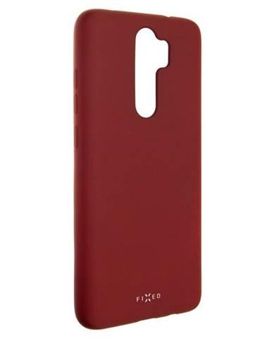 Kryt na mobil Fixed Story na Xiaomi Redmi Note 8 Pro červený