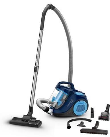 Podlahový vysávač Rowenta Swift Power Cyclonic Ro2981ea čierny/modr