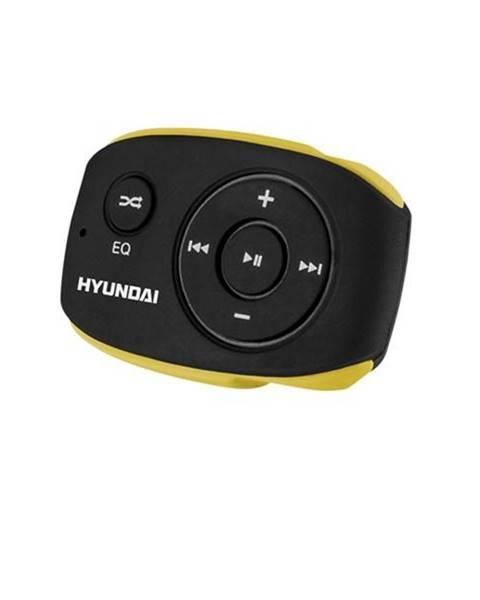 Hyundai MP3 prehrávač Hyundai MP 312 GB4 BY čierny/žlt