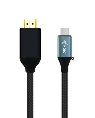 Kábel i-tec USB-C/Hdmi, 1,5m čierny